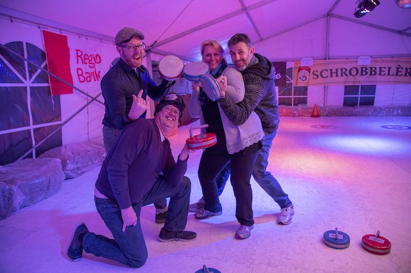 1e plaats curling