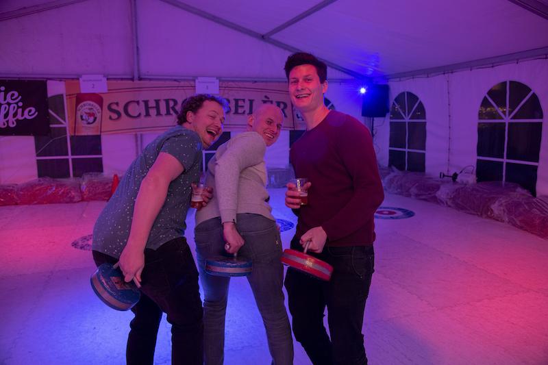 3e plaats curling